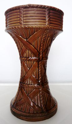 Unusual Bethune Earthenware Vase