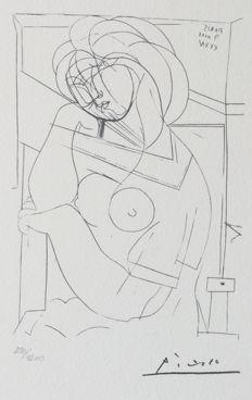 Pablo Picasso (after) - Suite Vollard Planche XXI