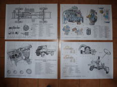 Poster series Mercedes Benz Unimog S from 1968/69
