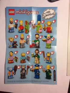 Lego The Simpsons Series 1