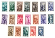 Republic of Italy, 1946/1951 - selection of stamps