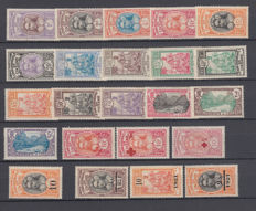 France 1913/1965 - Collections of stamps