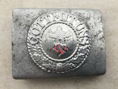 Original Belt Buckle wehrmacht - from 1935 - 1945