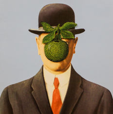 Alessandro Padovan (Screw Art 3D) - THE APPLE OF MAGRITTE