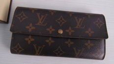 Louis Vuitton - Long Wallet Portefeuille Sarah