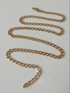 18K gold necklace - 50cm