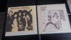 rolling stones L.A.FOG VERY RARE 2 LPs and THE SLICER  2LPs