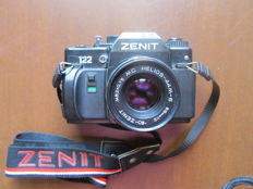 "ZENIT 122 (First series) Lens ""Helios 44M-6"" with focal of 58mm and multilayer anti-reflective coating (1990)"