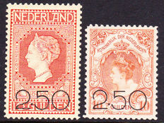 Netherlands 1920 - Clearance Edition - NVPH 104/105