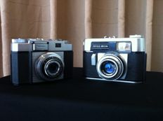 2x Zeiss Ikon 1 x Zeiss Ikon Colora F. and 1x Zeiss Ikon Contina IIa