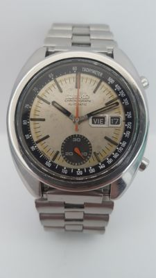 Seiko chronograph 6139-6012 – Wristwatch-men's-1970's