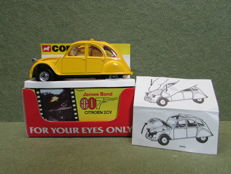 Corgi Toys - Scale 1/36 - James Bond 007 Citroen 2CV From 'For Your Eyes Only' No.51655