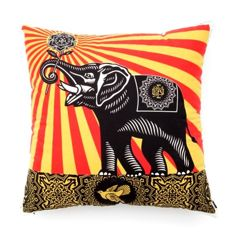 Shepard Fairey (OBEY) -  Elephant Pillow