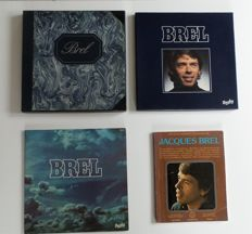 "Jacques Brel - 7 LP's in special box - Title: ""Brel"" - 4 LP's in special box - 1 LP - and a book"