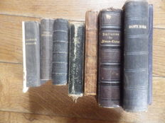 Lot of 9 old works on religion - 1830/1932