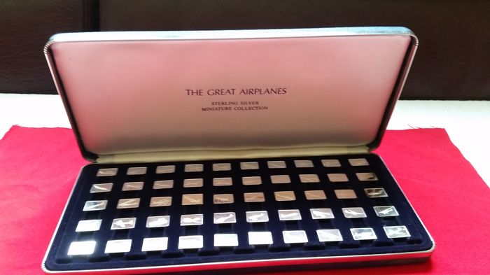 Franklin mint The Great Airplanes
