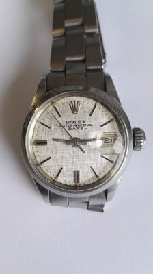 Rolex – Date – Ref. 6516 – Women's watch – 1960-1969