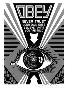 Shepard Fairey (OBEY) - Obey Eye (Black)