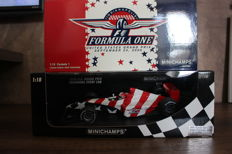 Minichamps - Scale 1/18 - Indianapolis Formula One US GP 2000 - Limited Edition 2000 pcs