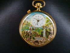 Reuge Swiss musical pocket watch