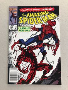 Amazing Spider-Man #361 - 1st & 2nd Print - 1st Appearance Of Carnage x 2 - SC - 1992