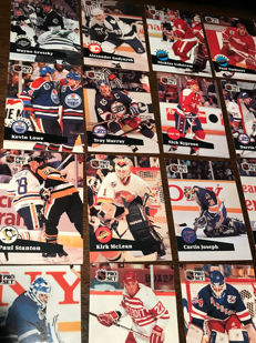 120 cards hockey-international-players from teams - collectible cards - 1991/26 years old