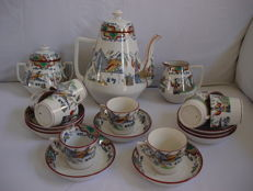 Boch  decor Timor servies