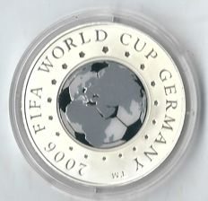 Belarus - 20 roubles 2005 'FIFA World Cup Germany 2006' - silver