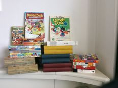 Donald Duck - Varia - Years 1960/1961 (loose) & 1963/1965 (bound) - De beste verhalen van DD - 11x sc - 10 pockets & 9 winter and holiday books (1960/2011)
