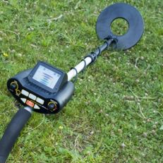 Professional metal MG 26 detector with touch panel