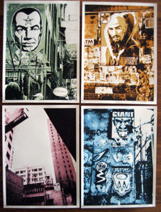 Shepard Fairey (OBEY) - Post No Bills Print Set