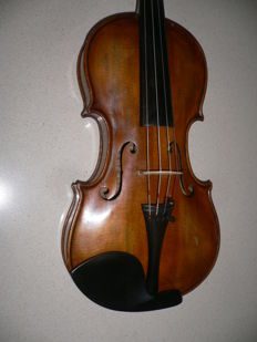 Antique restored Bohemian violin