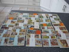Lot of 300 Liebig Chromo trade cards(of which 50 full series)