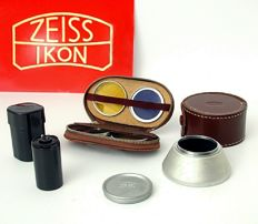 Zeiss Ikon lot for Contax IIa and IIIa