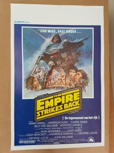 Poster - Star Wars The Empire Strikes Back - 1980
