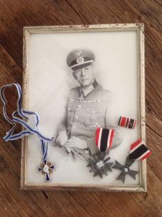 General Wehrmacht + various medals