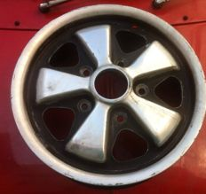 "Porsche 911 Fuchs Wheel with a rare size of 5,5""x14"""