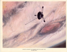 Pioneer 10 NASA lithographs
