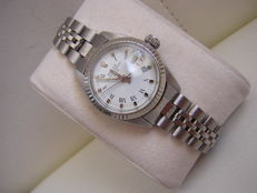 Rolex  Oyster Perpetual 6917 White gold/steel – Ladies Wristwatch –  circa 1972