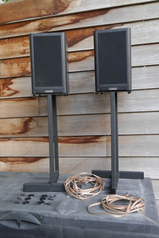 Mission 760 speakers including stands