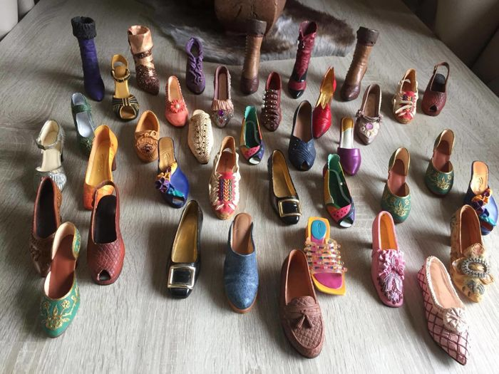 Collection porcelain shoes - Just the