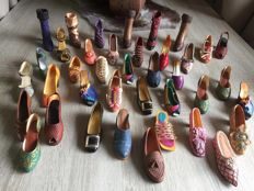 Collection porcelain shoes - Just the right shoe -