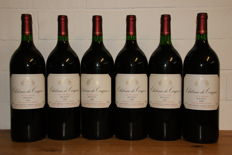 1995 Chateau de Conques Cru Bourgeois - Medoc  x 6 Magnums