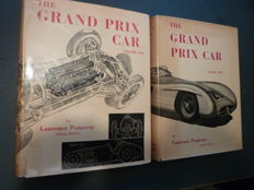 Books - Laurence Pomeroy - The Grand Prix Car - two volumes - 1955, 1956