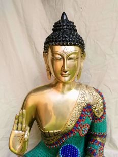 Buddha 65 cm - Bronze - Nepal - Late 20th century
