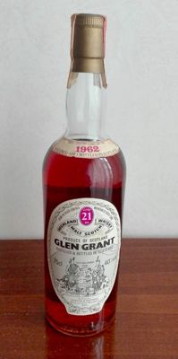 Glen Grant 1962 - 21 years old - distilled February 19th 1962