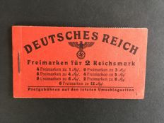 German Reich 1941 - Stamp booklet Hitler - Michel 49.3