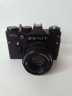 ZENIT TTL camera with Helios-44 lens (1980)