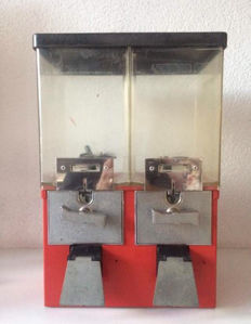 Double Gumball machine - second half of the 20th century