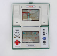 "Game & Watch  Multiscreen "" Zelda - Link ""  Nintendo - 1989 - N°44785948"
